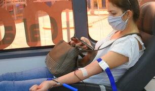 Estado de emergencia: donan sangre para niños pacientes del Neoplásicas