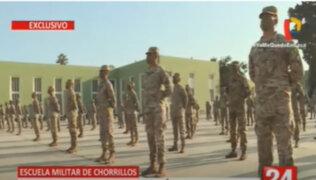 Día 48 por el Covid-19: Escuela Militar de Chorrillos no presenta casos de contagio