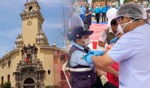Tras superar el COVID-19, dan de alta a trabajadores de la municipalidad de Miraflores