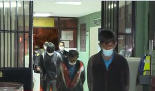[VÍDEO] PNP interviene a delincuentes que hicieron forado en empresa textil en Salamanca