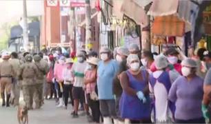 [VÍDEO] Coronavirus: 261 vendedores del mercado San Felipe en Surquillo dan positivo