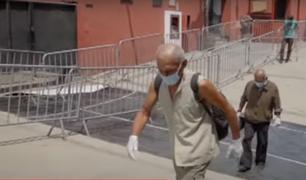 [VÍDEO] ¡Conmovedor! 13 indigentes acogidos en la Casa de Todos regresan con sus familiares