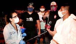 Empresarios regalan 200 kilos de carne a familias vulnerables en VMT