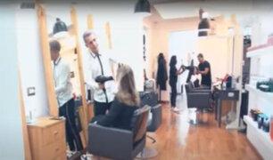 [VIDEO] Cuentan con protocolo de seguridad, peluqueros piden les permitan trabajar