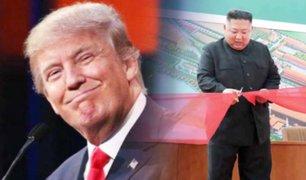 Donald Trump manifiesta su alegría por el regreso de Kim Jong-un