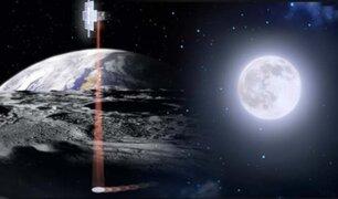 NASA quiere encontrar agua en la Luna con tecnología láser