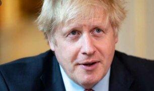 Boris Johnson revela que médicos se prepararon para su posible muerte