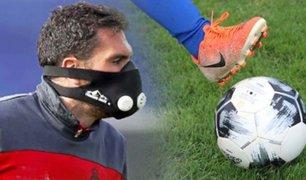 Liga 1: Futbolistas jugarían con guantes, mascarillas y celebrarán goles sin abrazos