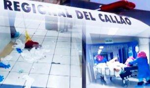 Alerta roja en hospitales del Callao, la región con más contagiados después de Lima