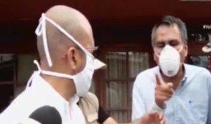 Lambayeque: ministro de Salud es increpado por consejero regional