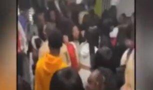 Ciudadanos realizan fiestas clandestinas durante la cuarentena