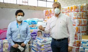Coronavirus: MML recibe 9,000 mascarillas para la Beneficiencia y albergues