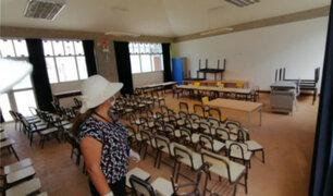 Trujillo: delincuentes asaltan jardín de niños y roban equipos y material educativo