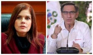 Mercedes Aráoz: No soy usurpadora, me opuse a decisión de Vizcarra de cerrar el Congreso