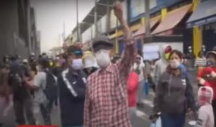 Ambulantes desalojados del mercado de La Parada serían reubicados en Santa Anita