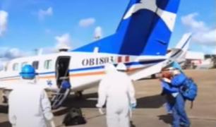 Trasladan de Iquitos a Lima a 2 médicos infectados por coronavirus