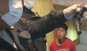 Callao: capturan a integrante de una banda delincuencial de 18 años