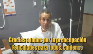 "Héctor Chumpitaz tras dar positivo a COVID-19: ""me siento muy bien"""