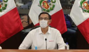 """Vizcarra: Resultados contra el COVID-19 """"no han sido los que exactamente esperábamos"""""""