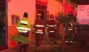 Miraflores: incendio en taller alertó a vecinos en toque de queda