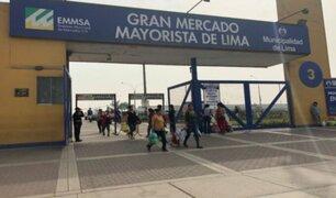 Reportan al menos 17 presuntos fallecidos por COVID-19 en el Gran Mercado Mayorista de Lima
