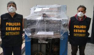 Cercado de Lima: Policía incauta 15 millones de dólares falsos