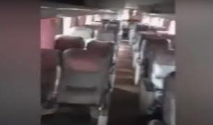 Denuncian que buses regresan vacíos de provincias mientras miles de limeños siguen varados