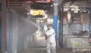 """Desinfectan mercado """"San Felipe"""" para evitar posibles contagios"""