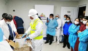 Cusco: donan implementos valorizados en más de S/.1.6 millones para hospital de Espinar