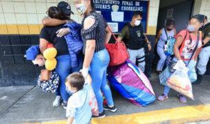 Coronavirus: 28 internas de 16 penales salieron en libertad por gracias presidenciales