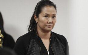 Fiscalía amplía investigación a Keiko Fujimori
