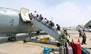 Vuelo humanitario trasladó a 180 personas con destino a Puerto Maldonado