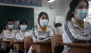 China: estudiantes de Wuhan regresaron a clases bajo medidas sanitarias