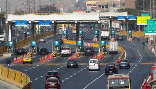 Ositran: Suspensión de peajes sería perjudicial para el país