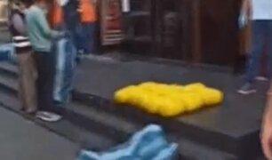 VES: decomisan droga camuflada en un camión con papas