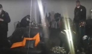 Cajamarca: intervienen a grupo de personas que realizaba fiesta en casa de policía