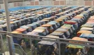 Santa Anita: depósito municipal ha rebasado su capacidad por incautación de mototaxis