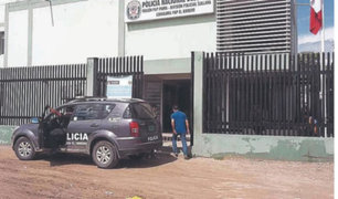 Piura: dos policías sospechosos de Covid-19 son detenidos bebiendo licor