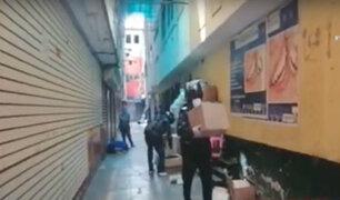 Mesa Redonda: policía interviene locales que abastecían a ambulantes