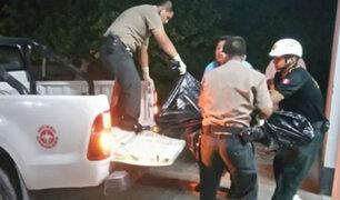 Arequipa: encuentran cuerpo calcinado de hombre en una chacra