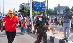 India: siete muertos y más de mil afectados deja fuga de gas