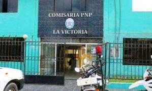 Chiclayo: PNP frustra asalto y captura a dos hampones que querían asaltar botica