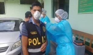 Policiales de la ciudad del Cusco fueron vacunados contra la influenza