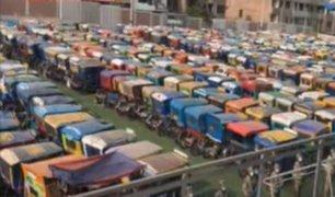 [VIDEO] Santa Anita: varios choferes de mototaxis incautadas no tenían documentos en regla