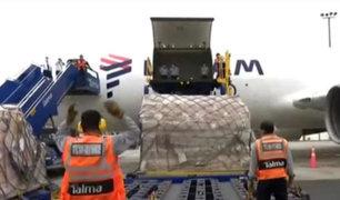 Covid-19: llegaron 31 ventiladores mecánicos procedentes de China
