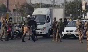 Megaoperativo en Lima: Se registró gran congestión vehicular a pesar de cuarentena