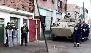 """PNP bloquea ingreso a """"La Parada"""" del Callao por sospecha de COVID-19"""