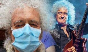 """Guitarrista de """"Queen"""" es hospitalizado tras sufrir accidente en su casa"""