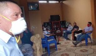 Tumbes: detienen a trabajadores municipales por celebrar cumpleaños en plena cuarentena