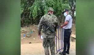 Estado de emergencia: continúan diferencias entre policías y militares